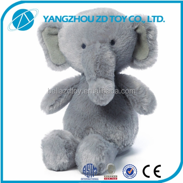 promotional stuffed elephant plush toy with big ears