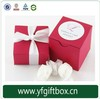 Luxury design foldable candy packaing box weeding candy paper box