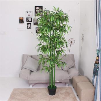 Venta Al Por Mayor De Peluche Chino Planta De Bambú Casa Decoración Artificial Durable Bambú De La Suerte De Las Plantas Buy Plantas De Bambú De La