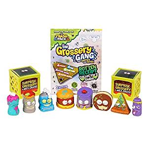 The Grossery Gang Fun, Colorful, Safe for Kids, Pretend Play Toys, S1 Mini Figure 10-Pack