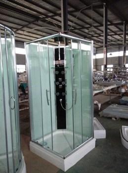 Wholesale bathroom prefab free standing glass shower enclosure ...