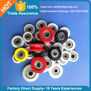 China top supplier plastic wheel z809 bearing