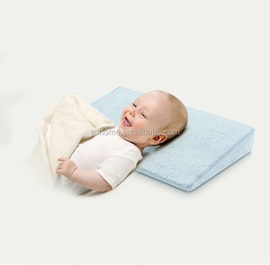 Super Soft Custom Multifunction Memory Foam Baby Crib Wedge Pillow Back Support