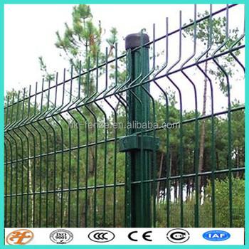 Galvanized Welded Wire Mesh Fence Panels In 12 Gauge - Buy Welded ...