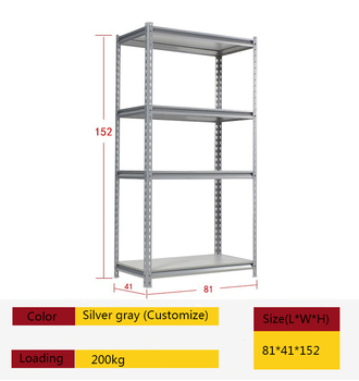 Cheap metal pallet boltless z beam rivet shelving