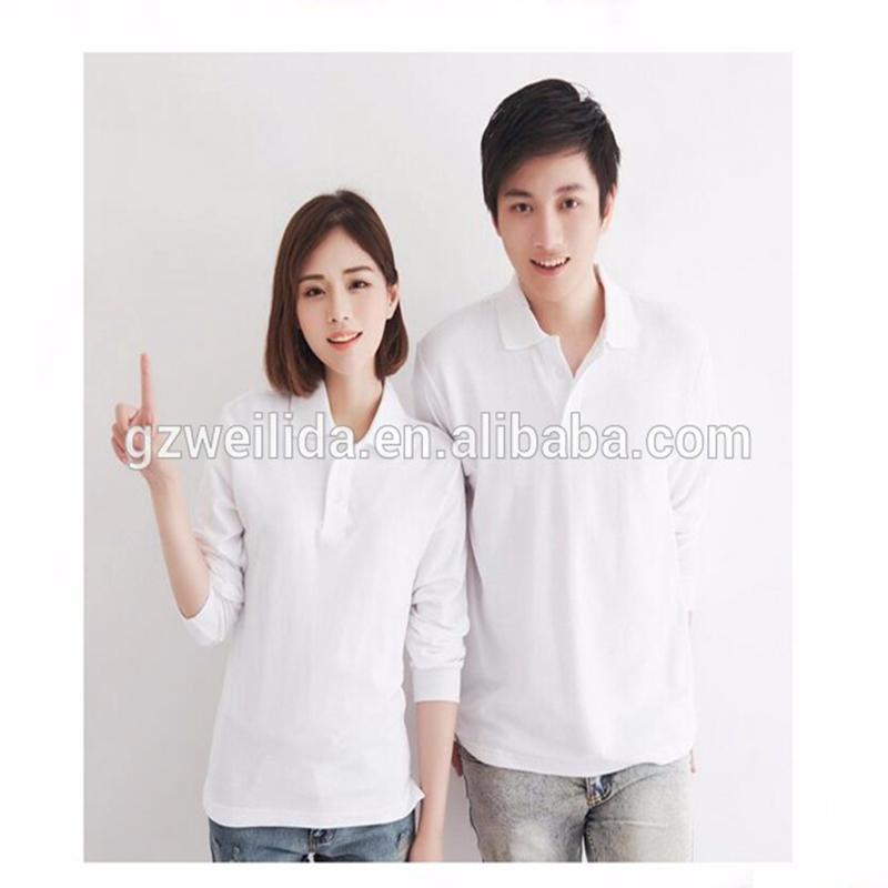 701a150cd6a Guangzhou Factory Double Mercerized Cotton Polo Shirt Plain Dyed Couple  Pakistan Long Sleeve White Polo Shirts - Buy Double Mercerized Cotton Polo  Shirt ...