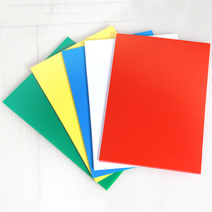 flame retardant corex board printed polypropylene pp corrugated plastic sheet
