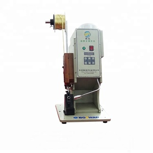 High tech BZW-07 Mute brass belt crimping machine
