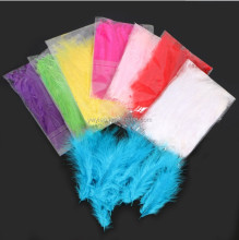 10 cm Ostrich Feather Pesta Pernikahan Balon Dekorasi