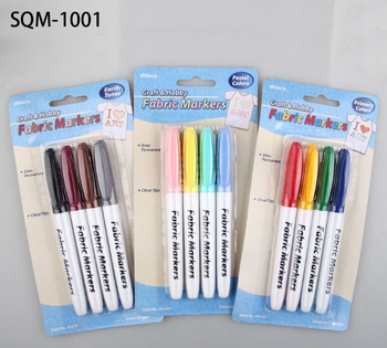 Blister packing fablic markers for art