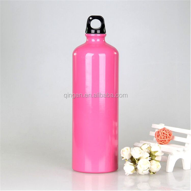 high quality empty wine bottle /aluminum sport bottle beer bottle
