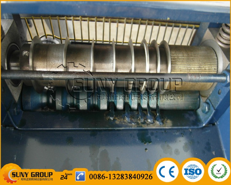 Scrap Wire Stripping Machine/copper Wire Peeling/scrap Cable Wire ...