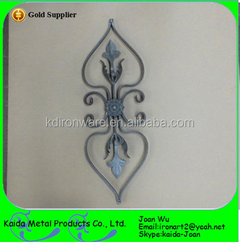 Ornamental Wrought Iron/Cast Iron Rosettes For Fencing & Gates