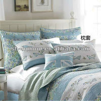 luxury applique bedding set/quilts/bedspread
