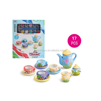 Happy Children cheap ceramics tea cup sets toys Diy tableware toys for kids  sc 1 st  Alibaba & Happy Children Cheap Ceramics Tea Cup Sets ToysDiy Tableware Toys ...