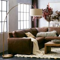 Bule Color Three Legs Metal Floor Lamp For Furniture Living Room ...