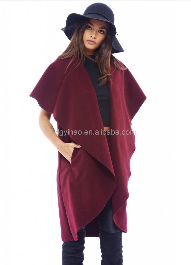 vtements chaud femmes manteau de fourrure pur couleur manteau dhiver dernire conception - Manteau Femme Color