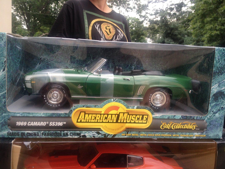 American Muscle 1969 Camaro SS396 GREEN 1:18