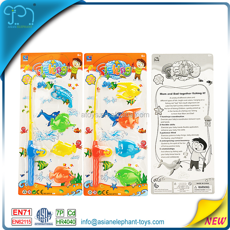 Plastic Fish Toy For Kids Battery Operated Fishing Game With En71 ...