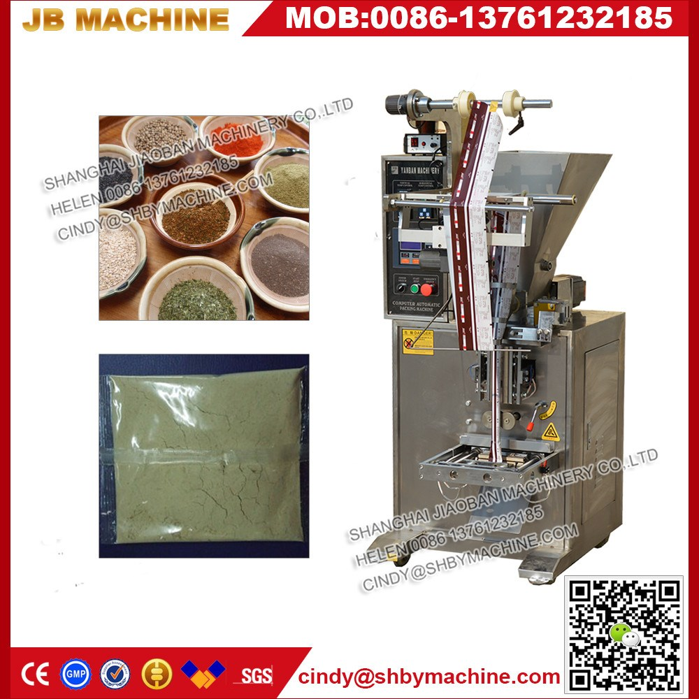 JB-150F Shanghai factory price 200ml flour/bleaching powder packing machine with high quality