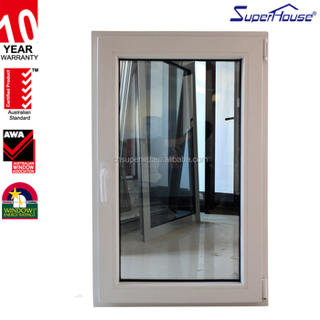 China suppliers pvc tilt turn and out window with au nz for Window manufacturers nz