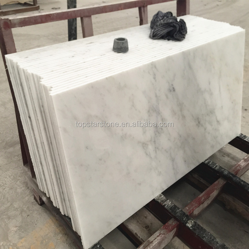 Hotel Wall Tile Decoration China Polished Eastern White Marble