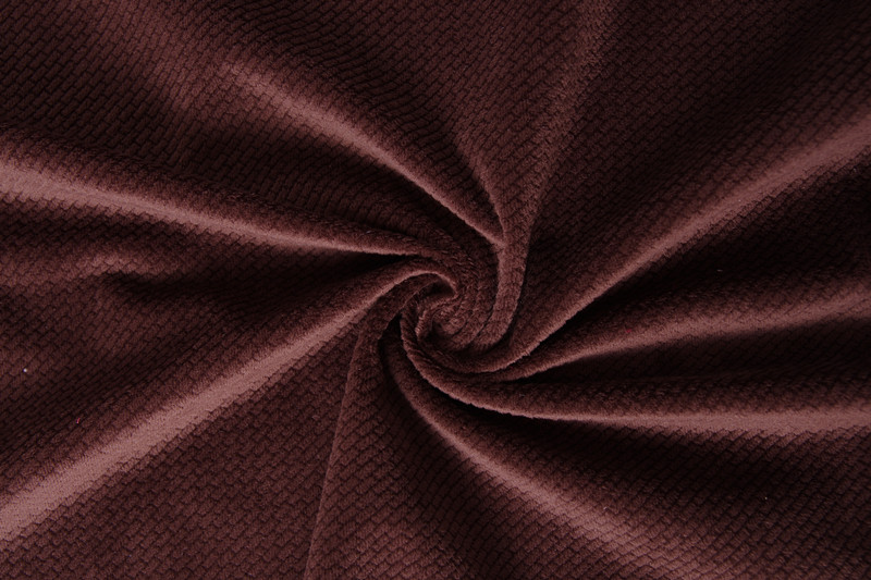 100% polyester corp pattern burn out velvet cushion sofa fabric