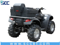 SCC SD1-R40 ATV Rear Lounger with Helmet Storage, Rotomold ATV box