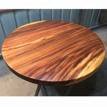 Solid Walnut Slab Wood Coffee Table For Home Office And Restaurant Furniture