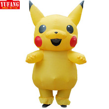 Factory Outlet Giant Mascot Costume Inflatable Pikachu