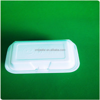 Disposable foam packing food container