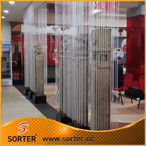 Transparent Room Divider Part - 29: Iridescent Clear And Transparent Wedding Decor Crystal Bead Curtain Room  Divider
