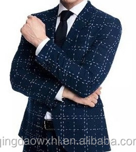New style wedding dress suits for men plaids suit