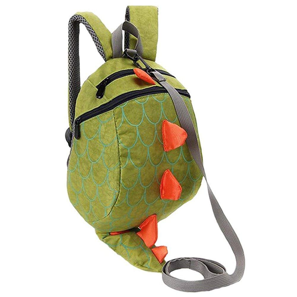 37ee08eefd Get Quotations · Jia Jia Trade Toddler Kids Backpacks Kids Toddler Dinosaur  Backpack With Safety Harness Leash Playful Preschool