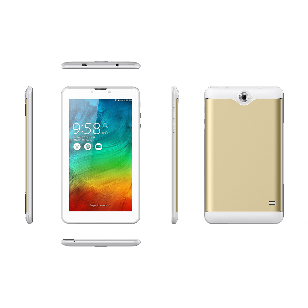 Sc9832 Tablet With Sim Card Slot 8Gb Rom 4G Lte 7 Inch Android 6.0 Tablet Pc