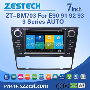 DVD/ VCD/ CD/ MP3/ MPEG4/ CD-R/ WMA car gps navigation for BMW E90 3 Series E91 E92 E93