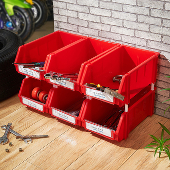 Tremendous Wall Mounted And Stackable Plastic Red Bin 6 Piece Tool Workbench Storage Box Buy Wall Mounted Storage Box Stackable Plastic Red Bin Tool Workbench Ibusinesslaw Wood Chair Design Ideas Ibusinesslaworg