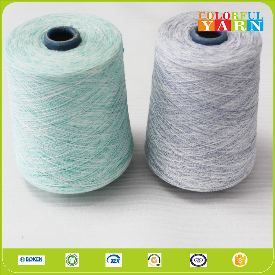 Moisture wicking 100 cotton yarn