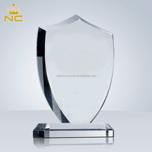 Inciso di Affari di Cristallo Placca Del <span class=keywords><strong>Campione</strong></span> Award Shield Per Memorial Premi Trofeo