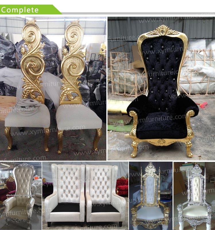 Royal Throne Chair For Wedding Xym C12