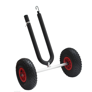 China Manufacturer Surfboard Fishing Trolley Beach Trolley Cart With 2 Wheels