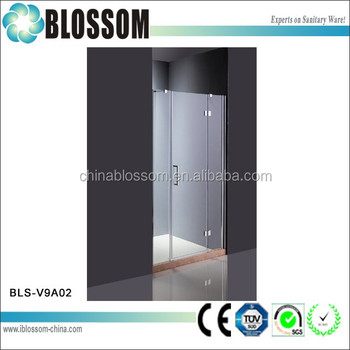 Hinged Shower With Single Swing Glass Shower Door With En12150 1
