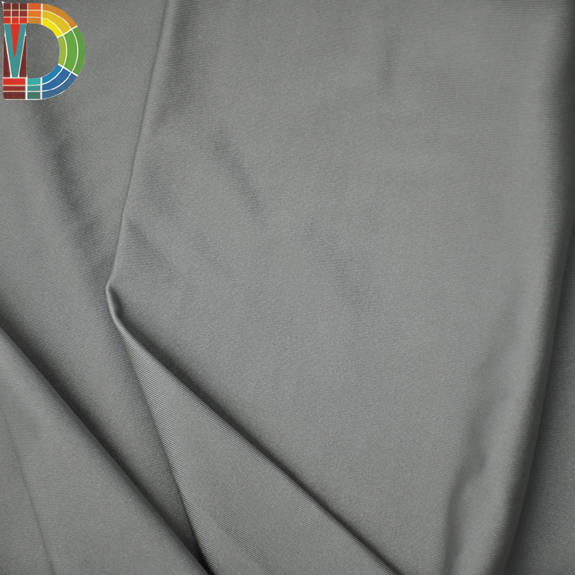 Custom design lycra stock lot stretching fabric 100% Polyester 4 way stretch lycra fabric