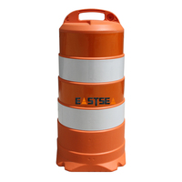 Plastic Barricade / Traffic Barrel / Roadway Safety Barrier for Sale