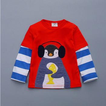 Guangzhou Factory Custom Logo Good Quality Kids Shirts Embroidery