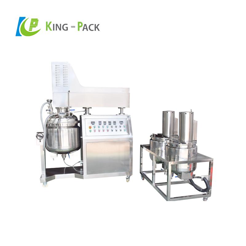 20-30l bio-pharmacy ointment cream hydraulic lifting emulsifying machine