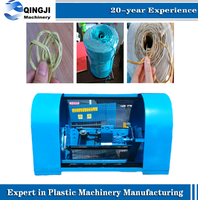 Automatic Plastic split film Jute sial Yarn ball winding machine