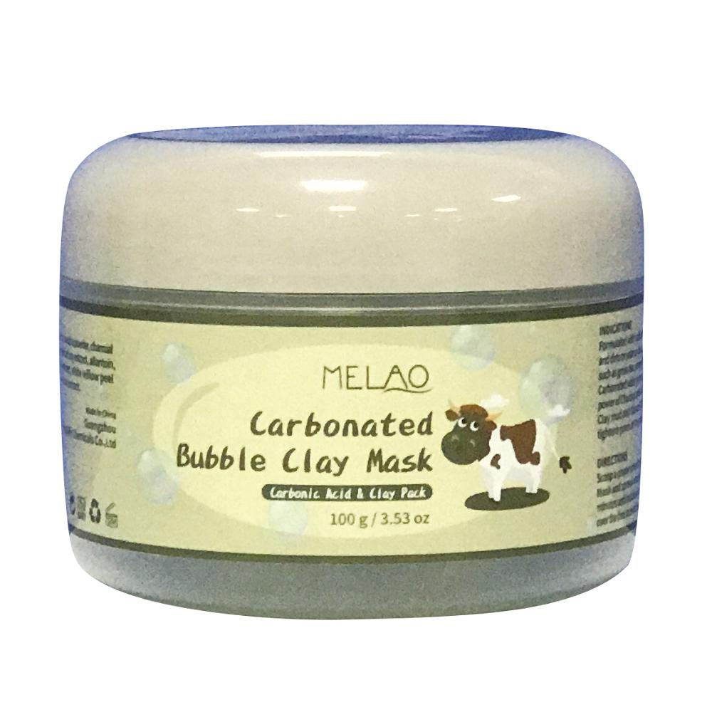 2018 Private label Tiefenreinigende Gesichtsmaske Carbonated Bubble Clay Maske 100g