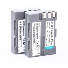 [HI-BTY] 2* EN-EL3e EL3e 2400mAh Camera Battery  ENEL3e For Nikon D30 D50 D70 D90 D70S D300 free shipping