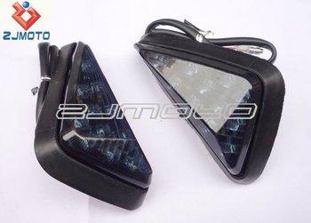 Motorcycle Led Turn Signals Indicators Blinkers Lights Universal ...